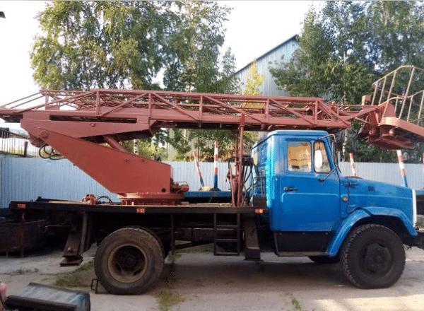 Аренда автовышки с люлькой ГАЗ 17 метров