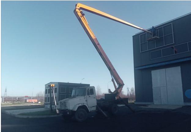 Аренда автовышки ЗИЛ 131 22 м