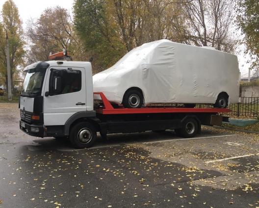 Аренда эвакуатора MERCEDES 5 тонн