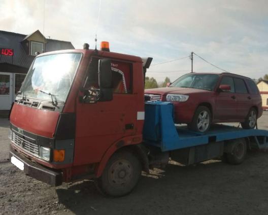 Аренда эвакуатора TATA 3.5 тонны