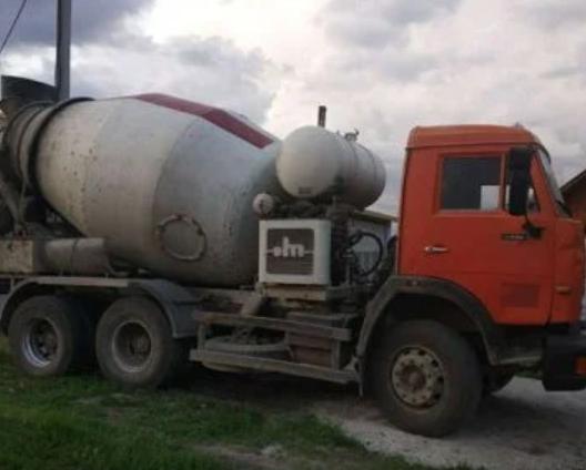 Аренда автобетоносмесителя СБ 92 на базе КАМАЗа