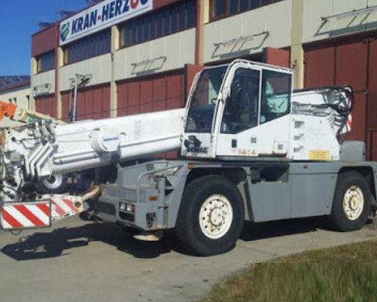 Аренда автокрана DEMAG AC75 25 тонн