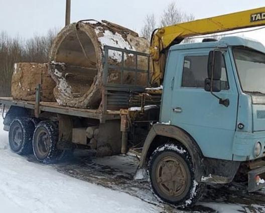 Аренда крана манипулятора КАМАЗ 53212 15 Т