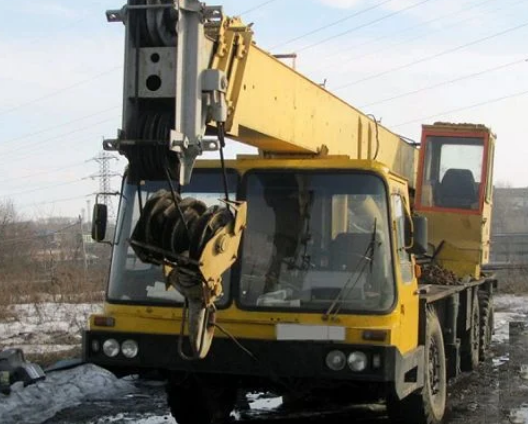 Аренда автокрана ДНЕПР КС-5473 25 тонн