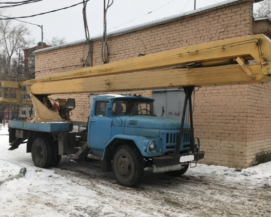 Аренда автовышки ЗИЛ-130 22 метра