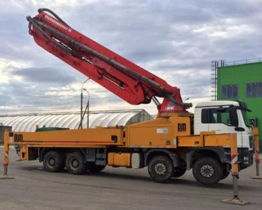 Аренда автобетононасоса CIFA 37 метров