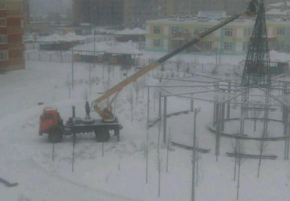 Аренда автовышки КАМАЗ 22 метра