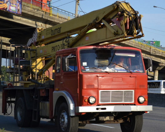Аренда автовышки JELCZ 30 метров