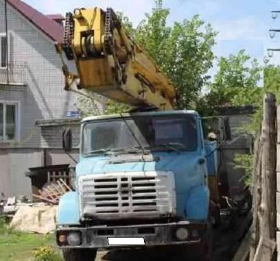 Аренда локтевой автовышки ЗИЛ 25 метров