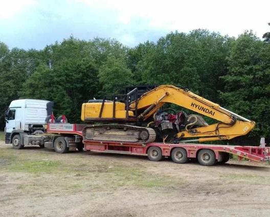 Аренда трала DAF 95 XF 30 тонн