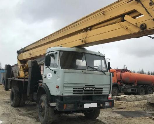 Аренда коленчатой автовышки КАМАЗ 28 метров