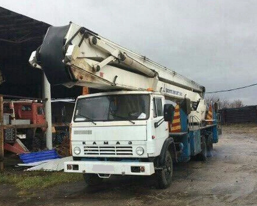 Аренда автовышки КАМАЗ 6540 32 метра