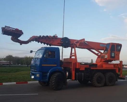 Аренда автовышки вездехода КАМАЗ 50 метров