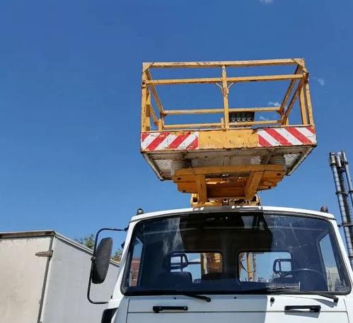 Аренда автовышки МАЗ 18 метров