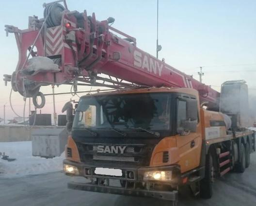 Аренда автокрана SANY 25 тонн