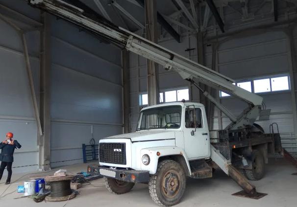 Аренда автовышки ГАЗ 18 метров