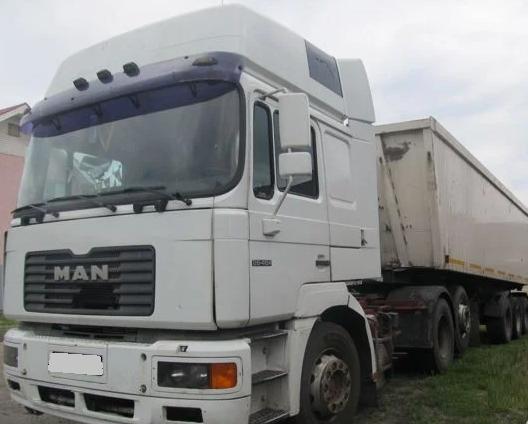 Аренда самосвала зерновоза MAN 25 тонн